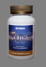 Zeolit AV - Clinoptilolite Radiation heavy metal detox Natural zeolites